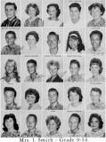 1962 - Grade 9-14 at Palm Springs Junior High School, Hialeah