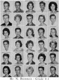 1962 - Grade 9-1 at Palm Springs Junior High School, Hialeah