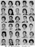 1962 - Grade 9-6 at Palm Springs Junior High School, Hialeah