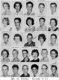 1962 - Grade 9-11 at Palm Springs Junior High School, Hialeah