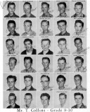1962 - Grade 9-10 at Palm Springs Junior High School, Hialeah