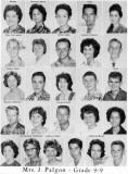 1962 - Grade 9-9 at Palm Springs Junior High School, Hialeah