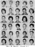 1962 - Grade 9-7 at Palm Springs Junior High School, Hialeah