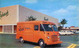 1960s - Richards Department Store and Royal Bakeries truck at 163rd Street Shopping Center