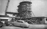 1951 - the Bon Aire Motel under construction at 18145 Collins Avenue, Sunny Isles