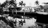 1963 - the Ocean Canal in Sunny Isles near Tatum's Ocean Beach Park