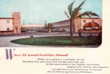 1954 - the Carousel Apartment Motel at 19051 Collins Avenue, Sunny Isles