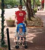 July 2007 - Karen and Kyler Kramer in Old Colorado City