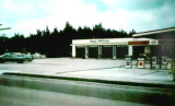 1969 - Esso Gas Station (Humble Oil & Refining Company) at 17790 Collins Avenue, Sunny Isles