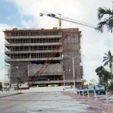 1970 - Miami Beach First National Bank under construction