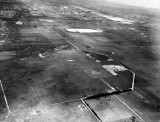 1956 or 1957 - Miami Springs, Virginia Gardens (upper left) and land west of Miami International Airport