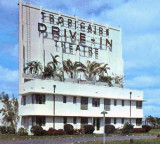 1960s - the Tropicaire Drive-In Theatre on Bird Road across from Tropical Park, Dade County