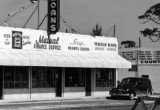 1951 - Beer bar, Mutual Financial Services, Beauty Salon and Venetian Blinds on NW 7 Avenue and 96 Street, Miami