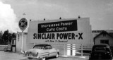 1957 - Sinclair gas station at the northeast corner of NW 103 Street and 27 Avenue, Miami