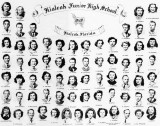 1949 - Hialeah Junior High School graduating class