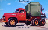 1950's - Oolite Concrete Company cement truck
