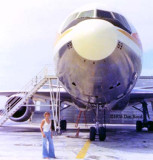 1976 - Karen Sherfick and National Airlines DC10-10 N69NA