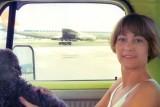 1976 - Karen Sherfick and her doggie