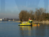 Colourful dredger