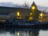 Boats at dawn.