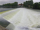 THE WEIR ON THE LECH AT LANDSBERG