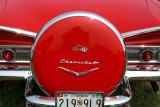 Vintage Chevrolet Impala and Bel-Air at 2007 Howard County Fair ... Nikon P5000