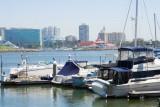 5220 Across the bay the Long Beach Marina