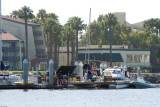 5447 Our Pier upon return: Hollywood in action