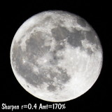 Test shots of moon 6/1/2007