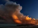 Cloud At Sunset