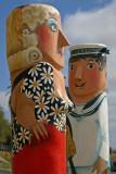 Sailor and Woman