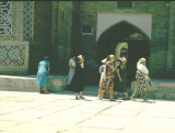 women of buchara in 1996