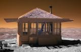 The Drake Peak Fire Lookout Cabin