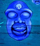 bleu face