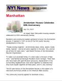 NY1 News Article