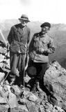 Louis Wibratte (1877-1954) et Robert Ollivier au Soum de Cestrede (2947 m)
