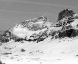 Mont Perdu (3355 m) et Cylindre du Marboré (3325 m)