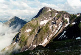 Pic Gazies (2457 m) vu du NW