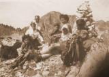 11 août 1946 - Mont Aigu (2558 m) au-dessus du Lac Nère (2309 m)