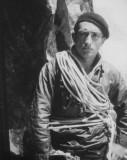 François Cazalet au couloir de Gaube en 1933