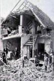 Ce qu'il reste des maisons du village d'Oppau