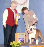 Santino BOB 03/04/07 Breeder Judge Mrs. Ruth Williams