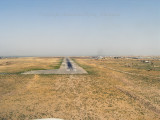 Short final runway 29.  Kunduz, Afghanistan