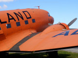 Orange Dakota DC-3