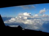 Clouds up ahead sir!