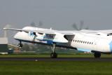 Dash8 Q400 takeoff