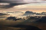 Sunset clouds over Zeeland