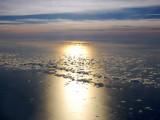 View over the Atlantic ocean