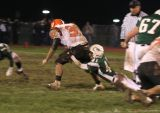 jake carries football and mason defender