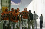 ready to head through the tunnel